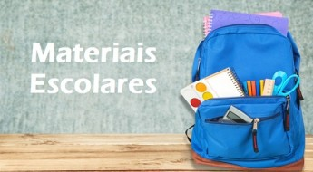 School supplies bag backpack knapsack object calculator isolated